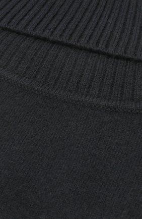 Мужские кашемировая манишка TEGIN черного цвета, арт. 4880 | Фото 2