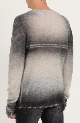 Удлиненный шерстяной джемпер  | Фото №4