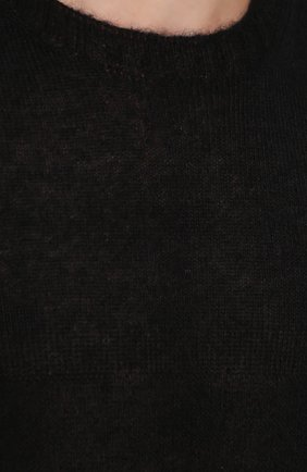 Удлиненный шерстяной джемпер  | Фото №5