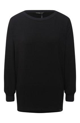 Женский лонгслив KORAL черного цвета, арт. A4124F68 | Фото 1