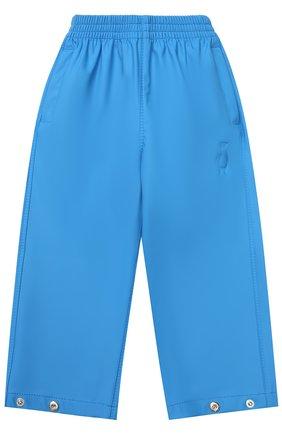 Спортивные брюки свободного кроя с эластичным поясом | Фото №1