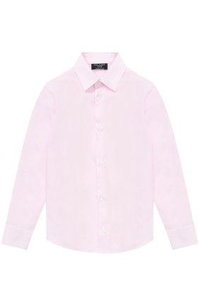 Хлопковая рубашка прямого кроя   Фото №1