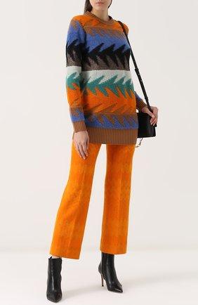 Удлиненный пуловер с круглым вырезом Missoni разноцветный | Фото №2