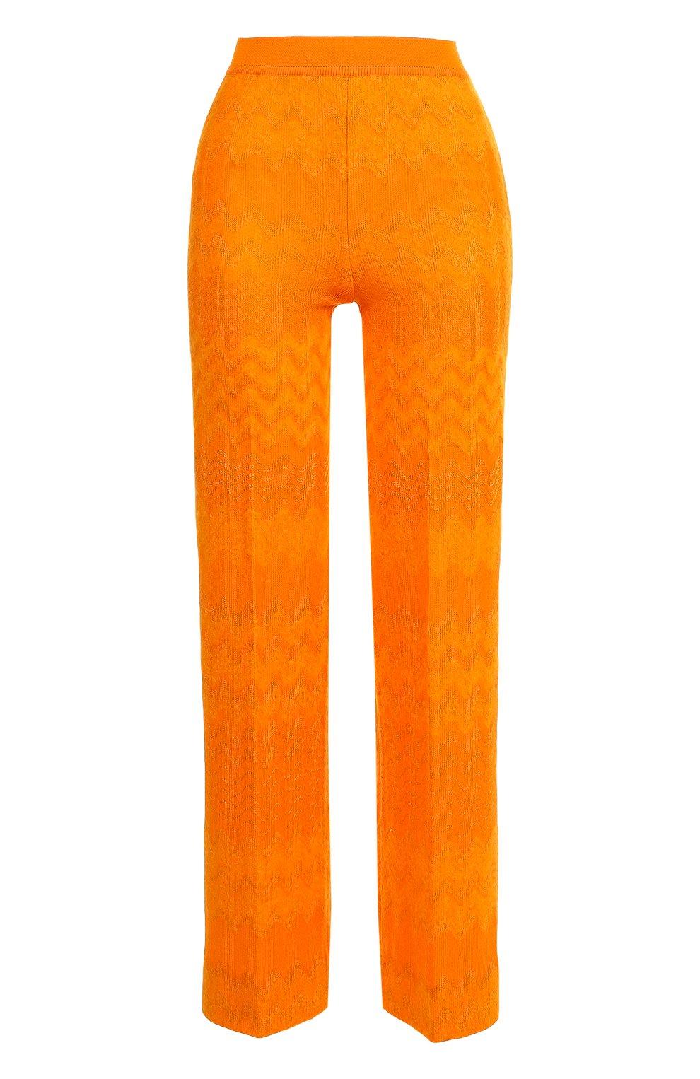 Укороченные расклешенные брюки | Фото №1