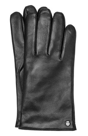 Кожаные перчатки с шерстяной подкладкой | Фото №1