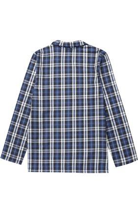 Хлопковая пижама с принтом | Фото №3