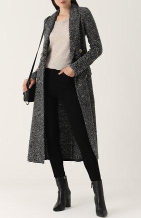 Кашемировый пуловер с круглым вырезом Le Kasha светло-бежевый   Фото №1