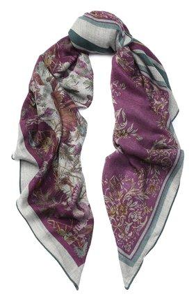 Кашемировая шаль 4 Scialli с принтом | Фото №1