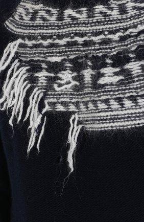 Шерстяной свитер с контрастной отделкой | Фото №5