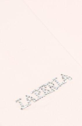 Детские колготки со стразами LA PERLA розового цвета, арт. 48828/4-6 | Фото 2 (Материал: Текстиль; Статус проверки: Проверено)