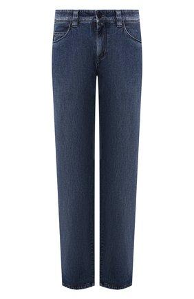 Мужские джинсы LORO PIANA синего цвета, арт. FAG4845 | Фото 1