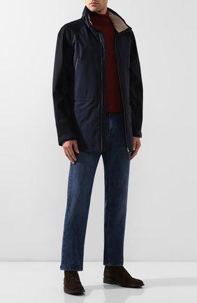 Мужские джинсы LORO PIANA синего цвета, арт. FAG4845 | Фото 2