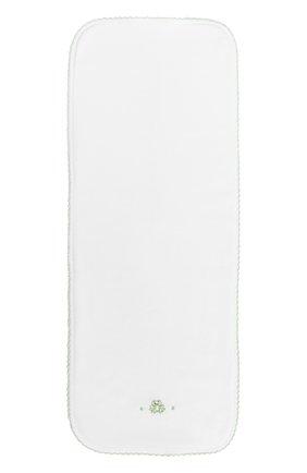 Хлопковая пеленка с вышивкой   Фото №1