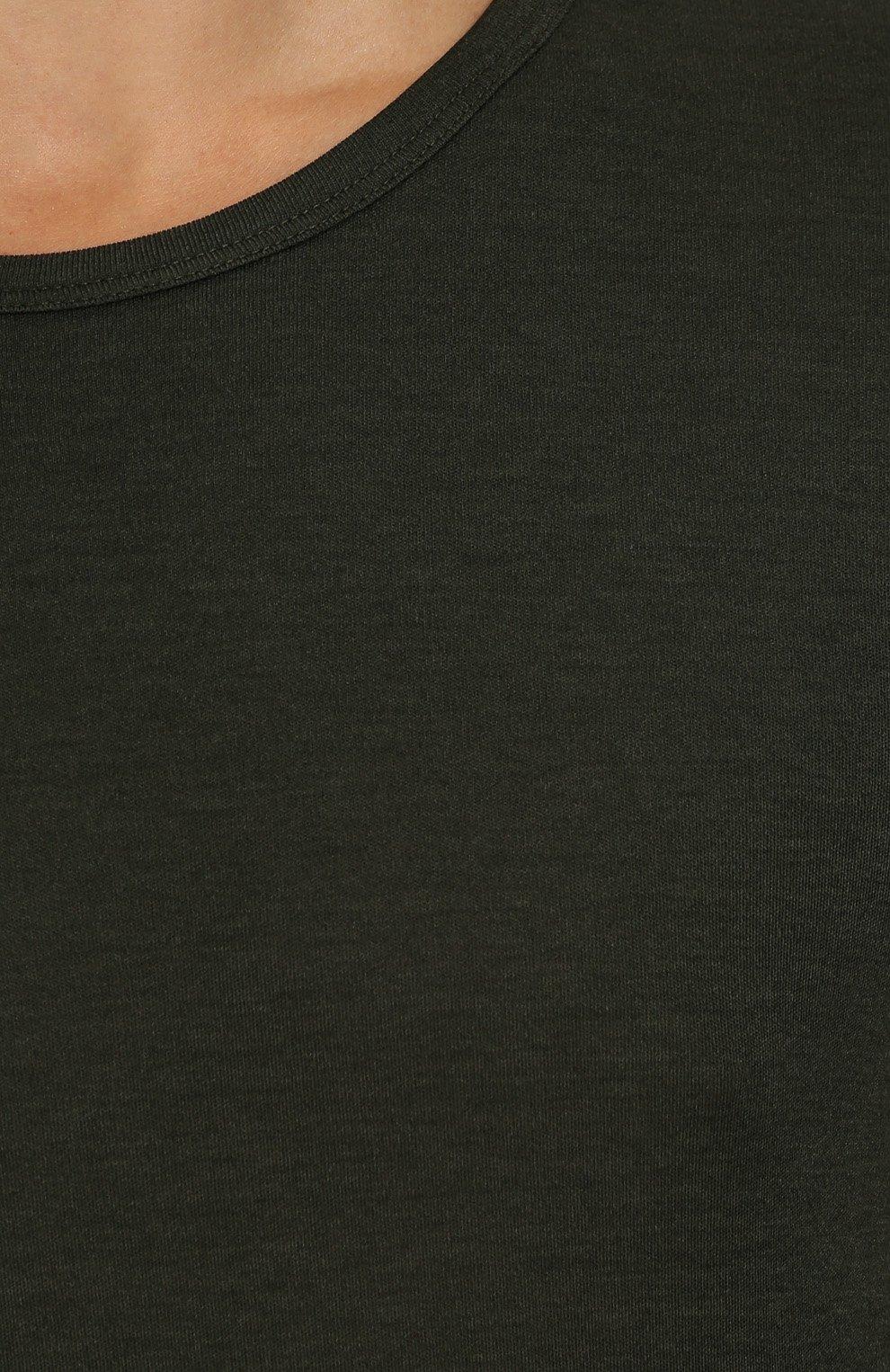 Джемпер тонкой вязки из смеси шелка и хлопка | Фото №5