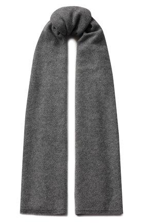 Кашемировый шарф Tegin черный | Фото №1