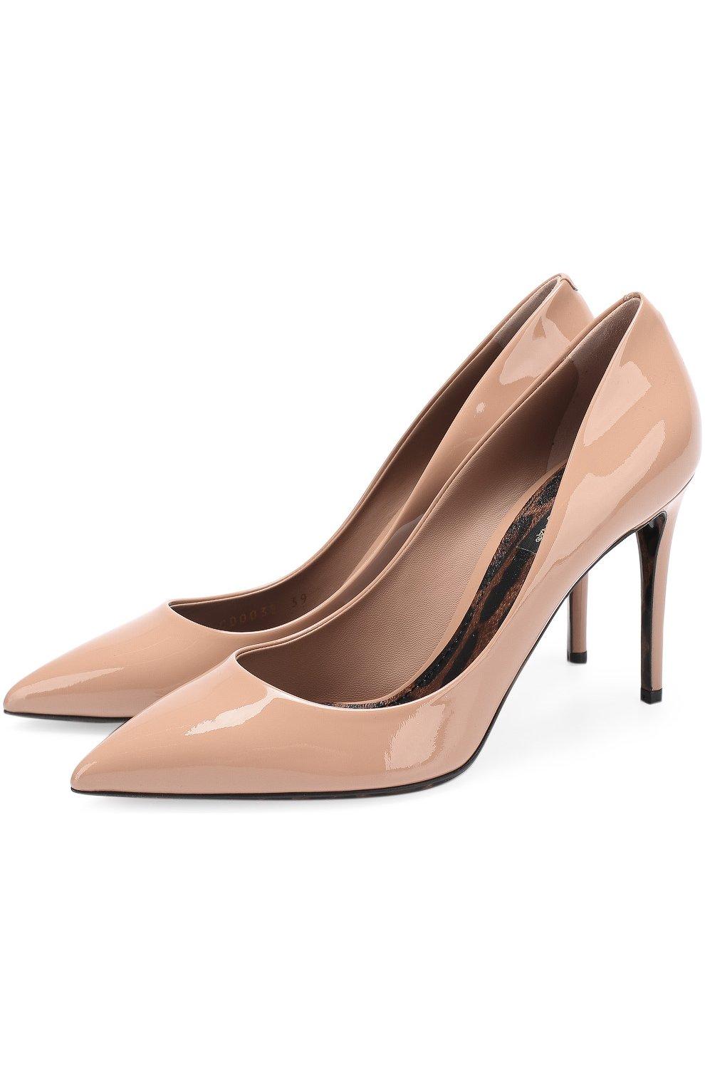Лаковые туфли Kate на шпильке | Фото №1