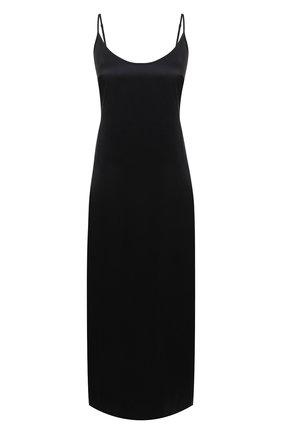 Женская шелковая сорочка LA PERLA черного цвета, арт. 0020292 | Фото 1