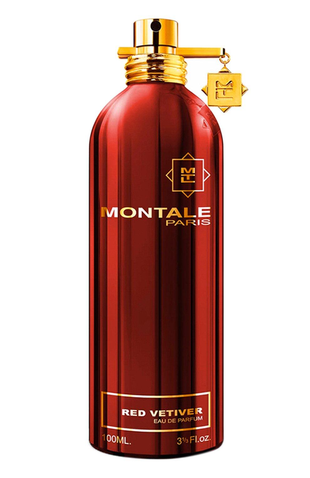 Мужской парфюмерная вода red vetiver MONTALE бесцветного цвета, арт. 3760260450287 | Фото 1 (Статус проверки: Проверена категория; Ограничения доставки: flammable)