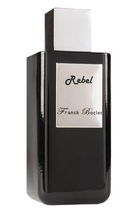 Женский духи rebel FRANCK BOCLET бесцветного цвета, арт. 3575070054453 | Фото 2