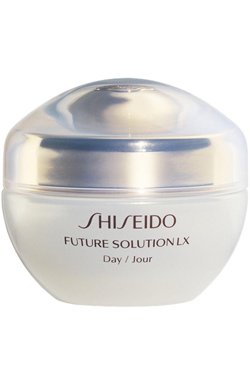 Женское крем для комплексной защиты кожи future solution lx SHISEIDO бесцветного цвета, арт. 13920SH | Фото 1