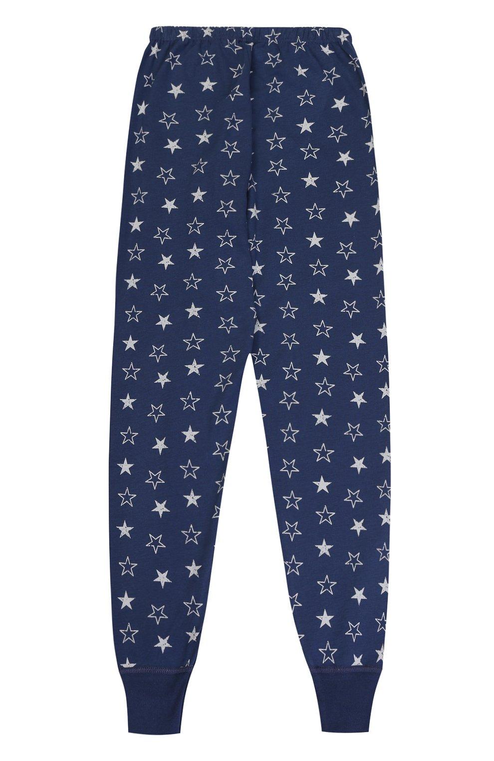 Хлопковая пижама с принтом   Фото №5
