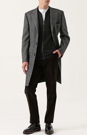 Классические кожаные дерби Fratelli Rossetti бордовые | Фото №1
