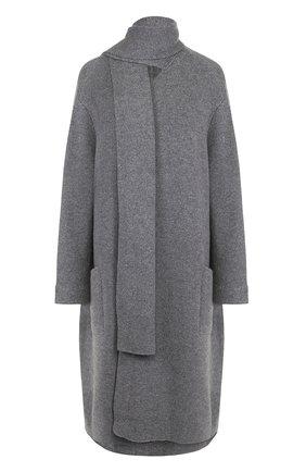 Кашемировое пальто свободного кроя | Фото №1