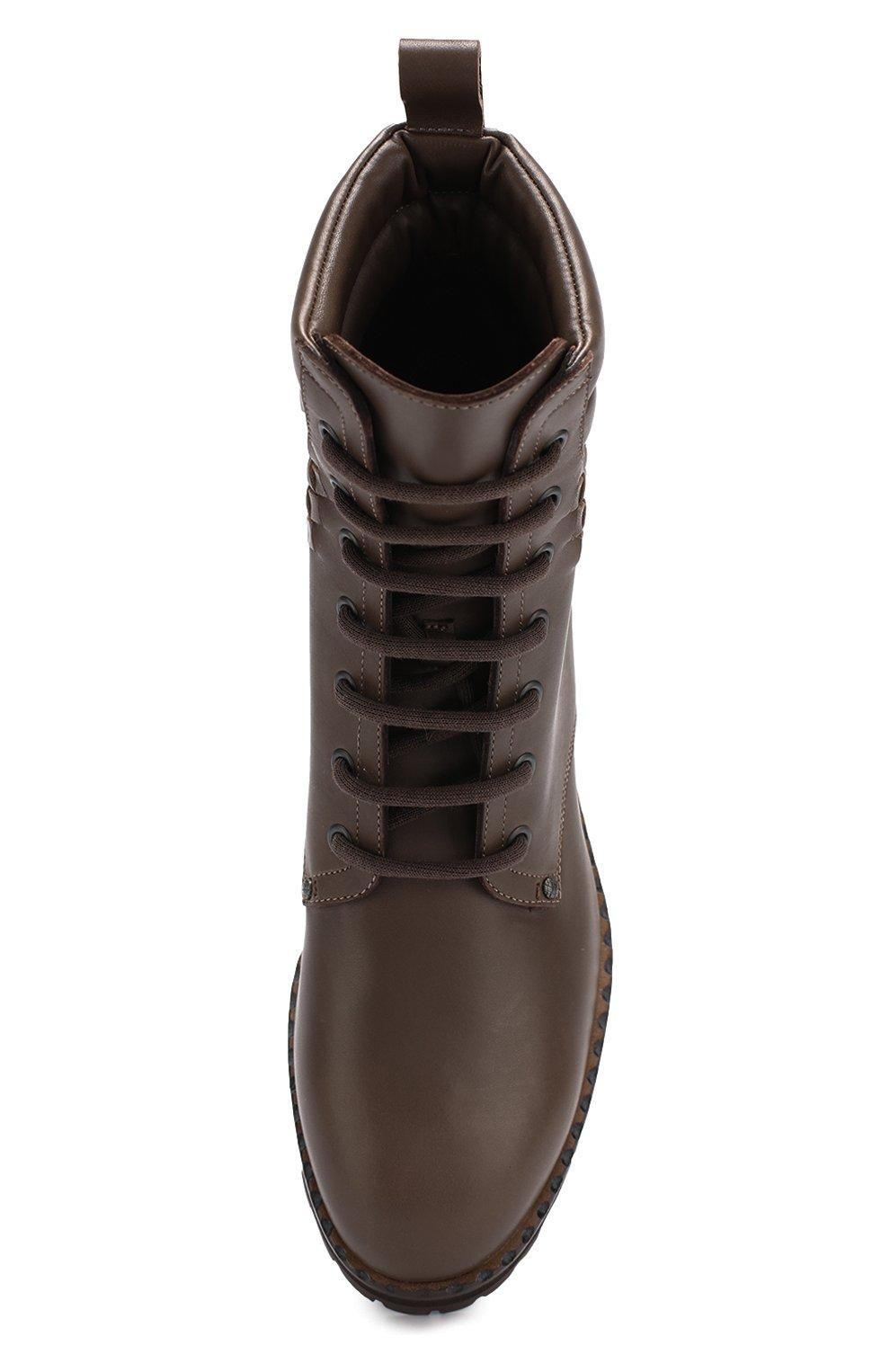 dc2431e84545 Кожаные ботинки с плетением intrecciato