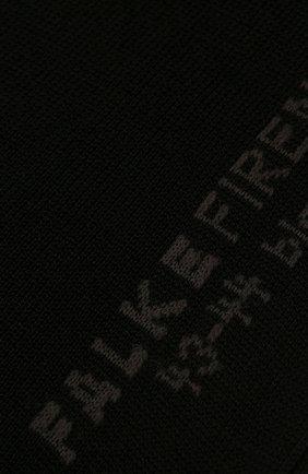 Мужские хлопковые носки firenze FALKE черного цвета, арт. 14684 | Фото 2