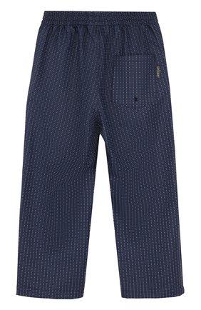 Детские брюки с эластичным поясом в горох GOSOAKY темно-синего цвета, арт. 172.101.104/REFLECTIVE   Фото 2