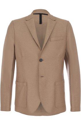 Однобортный шерстяной пиджак | Фото №1