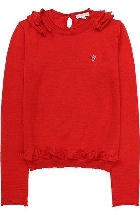 Детский пуловер джерси I Pinco Pallino синего цвета | Фото №1