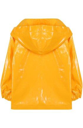 Детский плащ-дождевик на молнии SARAH JANE желтого цвета, арт. SAH7/SJ131B | Фото 2