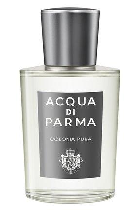 Мужской одеколон colonia pura ACQUA DI PARMA бесцветного цвета, арт. 27002ADP | Фото 1