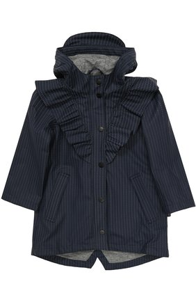 Детский дождевик с капюшоном GOSOAKY темно-синего цвета, арт. 172.101.223/REFLECTIVE | Фото 1