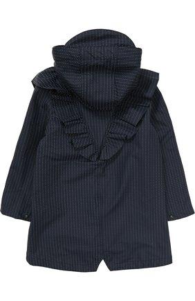 Детский дождевик с капюшоном GOSOAKY темно-синего цвета, арт. 172.101.223/REFLECTIVE | Фото 2