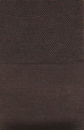 Мужские носки из смеси шерсти и хлопка sensitive berlin FALKE темно-коричневого цвета, арт. 14416 | Фото 2