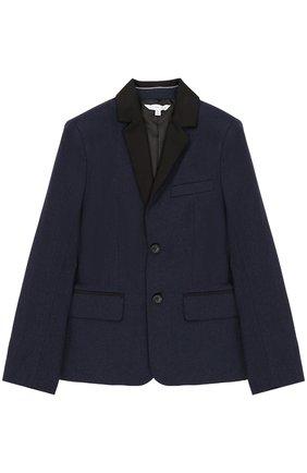 Хлопковый пиджак на двух пуговицах | Фото №1