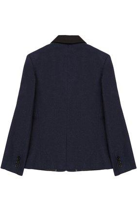 Хлопковый пиджак на двух пуговицах | Фото №2