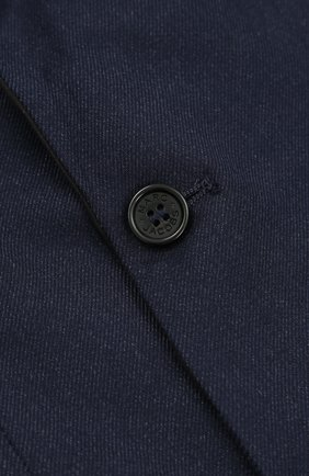Хлопковый пиджак на двух пуговицах | Фото №3