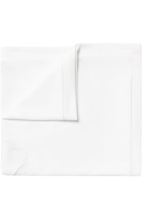 Одеяло из хлопка с кружевной отделкой   Фото №1