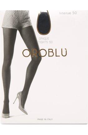 Женские капроновые колготки OROBLU синего цвета, арт. V0BC01352 | Фото 1