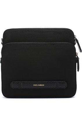 Текстильная сумка-планшет Mediterraneo с двумя отделениями на молнии | Фото №1