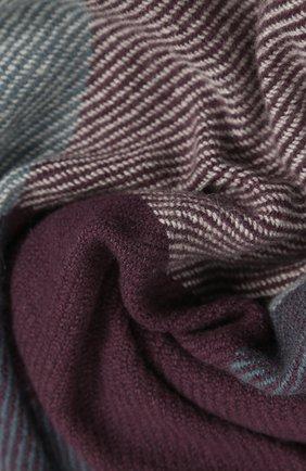 Мужской кашемировый шарф с бахромой LORO PIANA бежевого цвета, арт. FAG3680 | Фото 2
