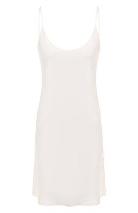 Женская шелковая сорочка LA PERLA кремвого цвета, арт. 0020291   Фото 1