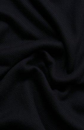 Мужской кашемировый шарф LORO PIANA темно-синего цвета, арт. FAF3540 | Фото 2