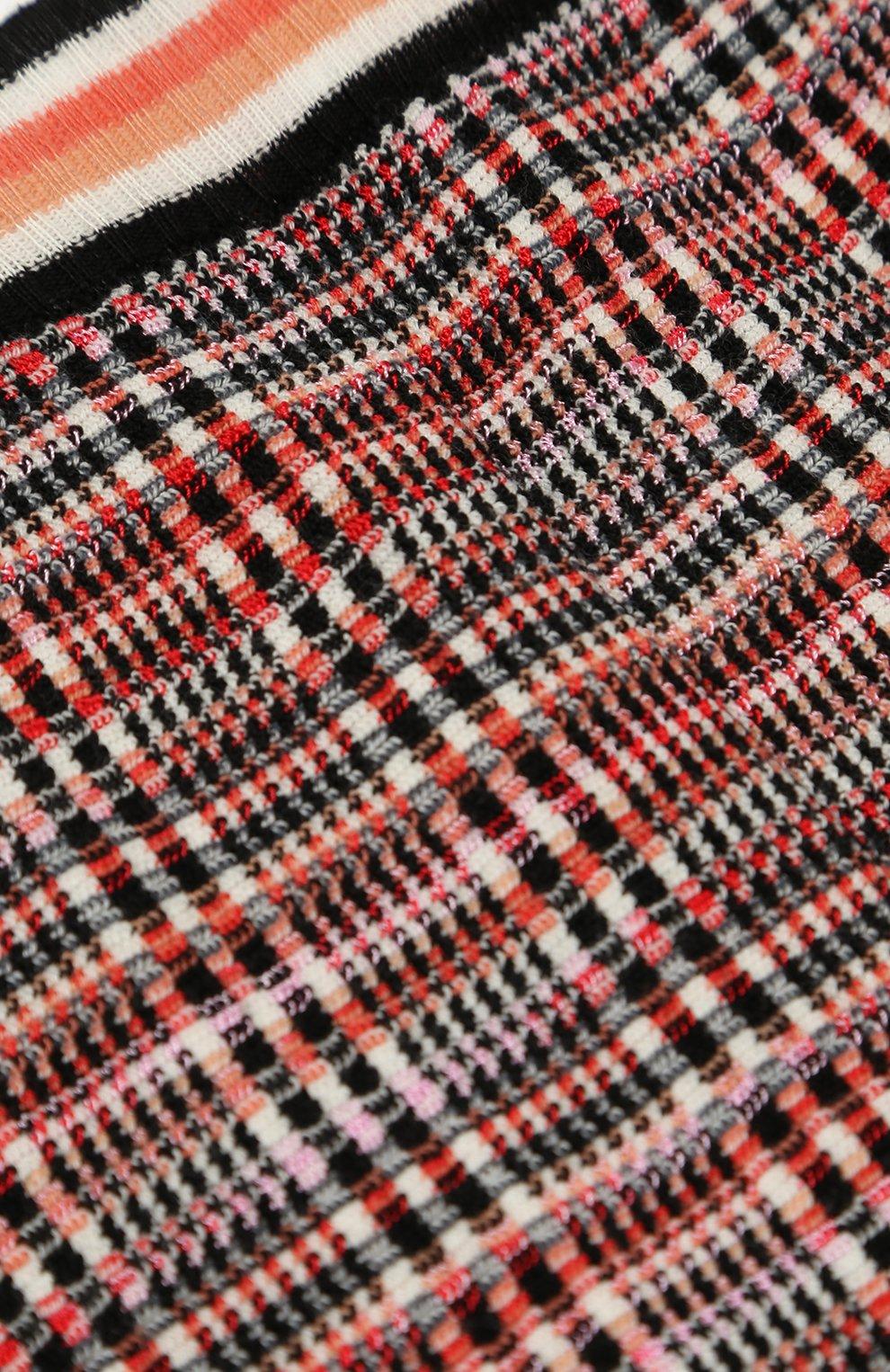Джоггеры фактурной вязки с эластичными манжетами | Фото №3