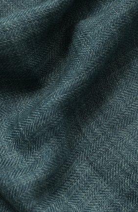 Шарф Brina из смеси кашемира и шелка с необработанным краем | Фото №2