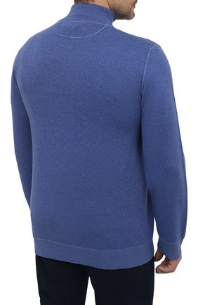 Кашемировый свитер с воротником на молнии   Фото №4