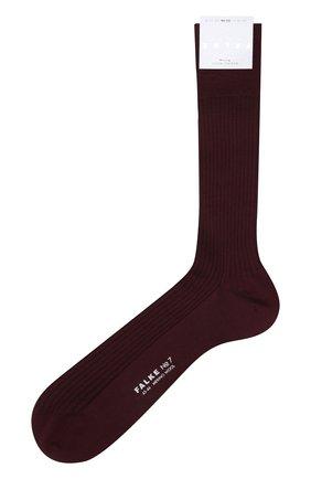 Мужские шерстяные носки FALKE бордового цвета, арт. 14449 | Фото 1